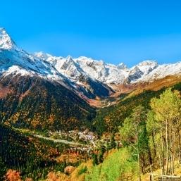 Кавказ. Домбай+Архыз