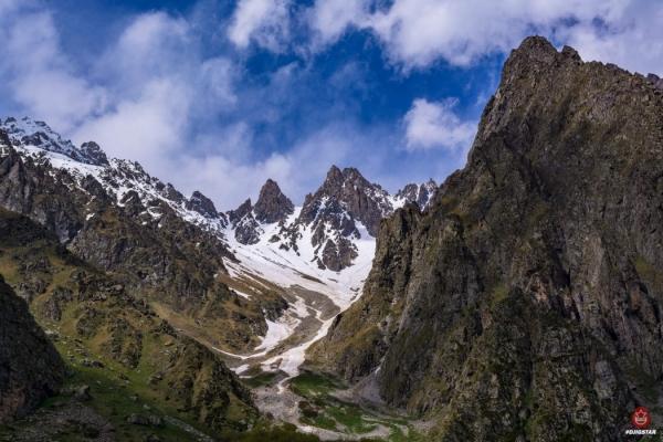 Цейское ущелье-Сказский ледник