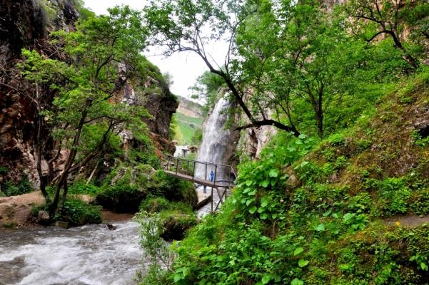 Медовые водопады-Чайный домик